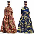 New Women Traditional African Dashiki Cocktail Party Evening Long Maxi Dress Lot