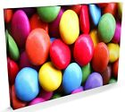 Chocolate Sweets Candy Art Print, CANVAS A3 to A1 - v496