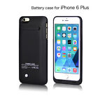 4200 mAh For iPhone 6 Plus External Battery Backup Charging Case Cover 5.5""