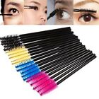Disposable eyelash curler Mascara Wands Applicator Spool Cosmetic Tool 50 / bag