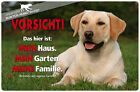 ! LABRADOR RETRIEVER ! Metall Warnschild .04