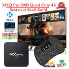MXQ PRO S905 Quad-Core 1080p 4K Smart OTT TV Box Fully Loaded+Backlit Keyboard
