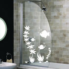 FISH SHOWER SCREEN STICKERS Bathroom Wall Stickers WALL ART DECAL STICKER S56