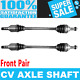 Front 2x CV Joint Axle Shaft for SUBARU FORESTER 03-08 SUBARU IMPREZA 03-07