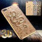 Luxury 3D Dragon Plating Silicone Case fr iPhone 7 6 6s Plus OPPO Soft TPU Cover