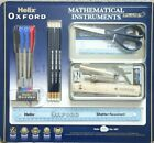 22 PIECE Helix Oxford Premium Maths Set Ruler Protractor Square Pens Pencils etc