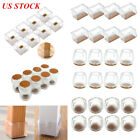 16/32pcs Chair Leg Silicone Caps Pad Furniture Table Feet Cover Floor Protector