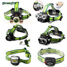 SkyWolfEye 30000LM XML 3x T6 LED Headlamp 18650 Headlight Head Torch Lamp 3 Mode