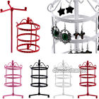 72 Holes Earrings Ear Jewelry Metal Rotating Display Stand Holder Show Rack