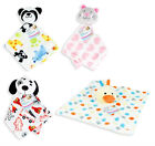 Newborn Babies Baby Comforter Blanket With Animal Soft Sleeping Toy Dog Cat 0M+
