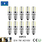 E14 LED Bulb Dimmable Replacement Silicone Lamp Chandelier Spot Light AC110V