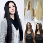 Long Fashion Part Bang Wig Straight Hair Synthetic Colorful Cosplay Unisex Wig