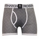 mens boxer Crosshatch 3 pack underwear trunks shorts aztec designer casual new