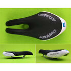 Mountain MTB Bike Cycling Saddle Pro Road PU Leather Bicycle Seat Cushion Riding