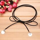 Brand New Synthetic Leather Necklace Women Neck Chain Round Choker