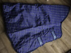 Horseware Rhino Turnout Rug Neck Covers - XL - Navy Check
