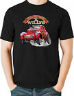 Hot Rod T Shirt Nostalgia Drag Racing 41 Willys Gas Supercharged Mens Tall Sizes