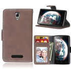 Retro Wallet Leather Flip Case Cover Stand For Lenovo A1000/A2010/A2020/K3/K5