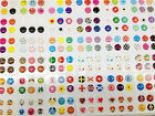 330PCS Lovely Cute Home Button Sticker For iPhone 7+ 6+ Plus 5S iPad5/4 Air Mini