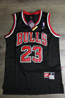 Michael Jordan Jersey #23 Chicago Bulls Classics Swingman Retro Black NWT on eBay
