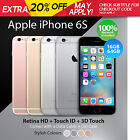 Apple iPhone 6 or 6s Unlocked 16 64 128 GB Smartphone + Retina HD 100% Genuine <br/> EXTRA 5% OFF may apply, try CAU5 in c/out. TCs apply