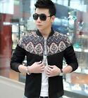 Famous Fashion Men's Autumn Winter Casual High quality Coats Jackets Plus Size
