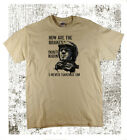Hows...Steve McQueen Biker Motorcycle Cool  Classic Retro Print Natural T-shirt