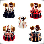 10 Holes Makeup Brushes Holder Drying Rack Organizer Cosmetic Stand Shelf Tool