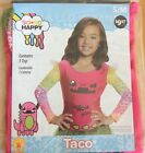 So So Happy Taco Halloween Dress Up Costume ~ S or M ~ NIP From Smoke Free Home