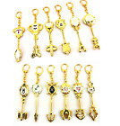 New Fairy Tail Metal Key Constellation Chains Magister Lucy's Zodiac Keys Gift