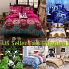 Tree Printing Single Double Queen King Size Bedding Pillowcase Duvet Cover Set
