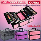 Extra Large Beauty Vanity Case Makeup Cosmetics Box Carry Bag Organiser Portable