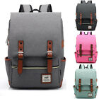 Retro Vintage Mens Ladies Military Army Rucksack Backpack satchel bag Unisex New