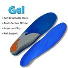 MEDIPAQ™ Deluxe Dual Density Gel Full-Length Insoles Foot Arch Aid Heel Support