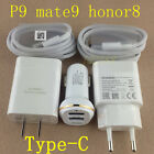Original Type-C Cable Car charger fast wall charger For Huawei mate9 pro P9 plus