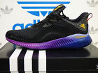 NEW ADIDAS Alphabounce Men's Running Shoes - Black/Purple; B42351