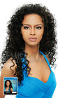 AMBER OUTRE Quick Wave Synthetic HAIR Long Curly HALF WIG CLEARANCE SALE