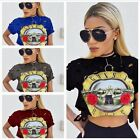 Europe US Popular Spring Summer Sexy Round Neck Lady short sleeve T Shirt New