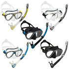 Cressi Big Eyes Evolution Mask + Dry Snorkel Set Alpha Dry Top Adult Scuba