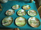 THE VILLAGE GREEN SERIES SELECTION OF  COLLECTORS PLATES BY WEDGWOOD