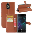 """9 Colors Leather Case Flip Wallet Stand Cover Pouch For Doogee Shoot 1 5.5"""""""