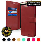for Galaxy S8 / S8+ Plus Case, GOOSPERY® BlueMoon Synthetic Leather Wallet Case