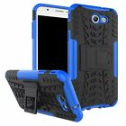 8Colors Anti-skid shock Hybrid Rubber Case Back Cover For Samsung Galaxy J7 2017