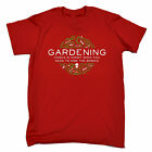 Gardening Hide The Bodies MENS T-SHIRT birthday gardener ironic funny gift