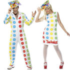 Twister Fancy Dress Costume - Mens Ladies Official Adult 80s Game Outfit Smiffys