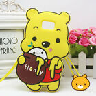 New 3D Cartoon Soft Silicone Phone Case Back Cover For Samsung Galaxy S6 S7 Edge