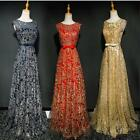 Bride Married Banquet Long Evening Dress Floor-length Elegant Party Prom Dress