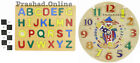 Childrens Kids Learning Toy Wooden ABC & TIME  Educational Toy Games NEW