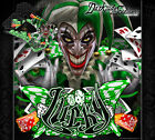 "KAWASAKI 1991-2008 KDX200 KDX220 KDX250 ""LUCKY"" GRAPHICS WRAP DECALS"