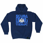 Scuba Diving Cheaper Than Therapy Open Water HOODIE hoody birthday dive gift